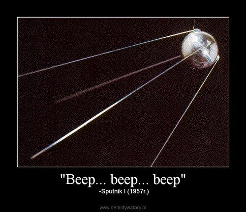 """""""Beep... beep... beep"""""""