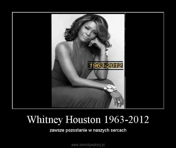 Whitney Houston 1963-2012 – zawsze pozostanie w naszych sercach