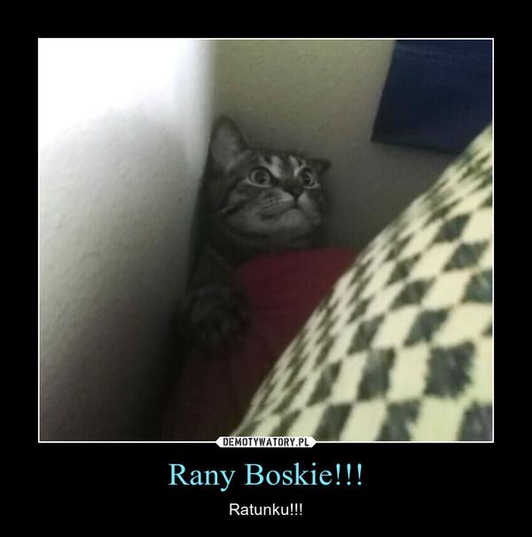 Rany Boskie!!! – Ratunku!!!