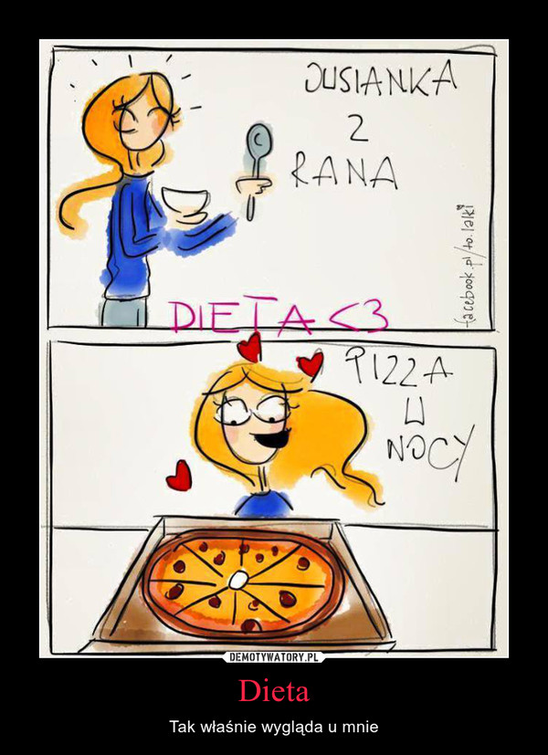 Dieta – Tak właśnie wygląda u mnie