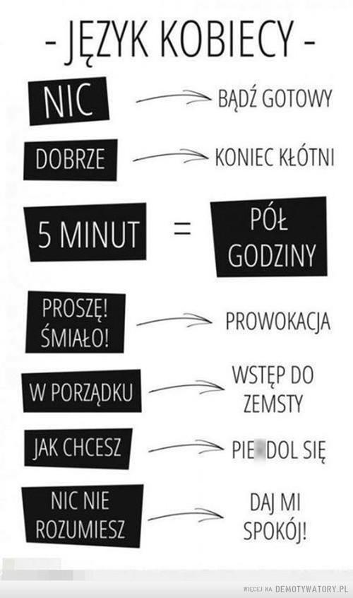 Kobiecy język