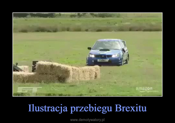 Ilustracja przebiegu Brexitu –