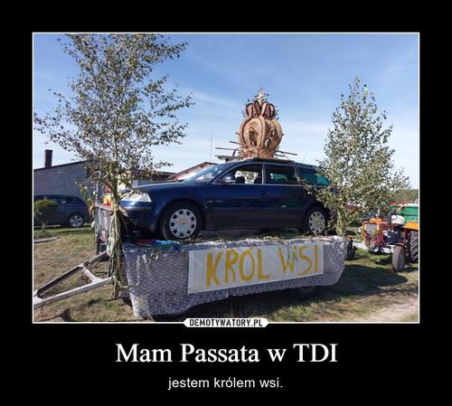 Mam Passata w TDI