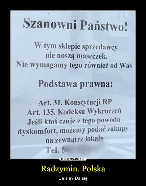 Radzymin. Polska