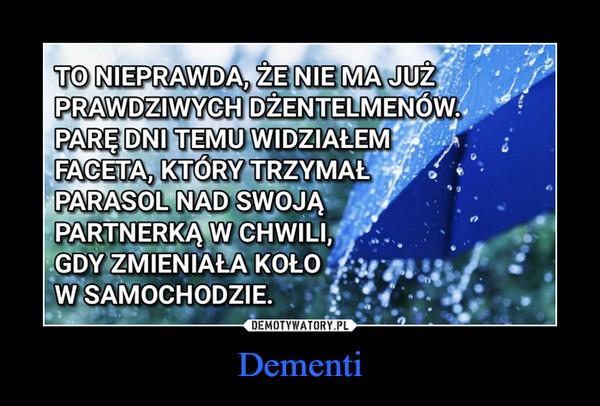 Dementi –