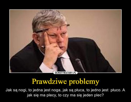 Prawdziwe problemy