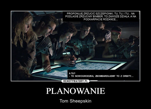 PLANOWANIE – Tom Sheepskin
