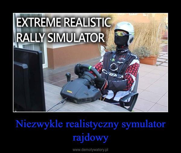 Niezwykle realistyczny symulator rajdowy –