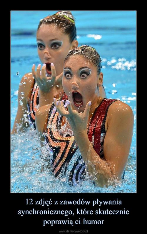 12 zdjęć z zawodów pływania synchronicznego, które skutecznie poprawią ci humor