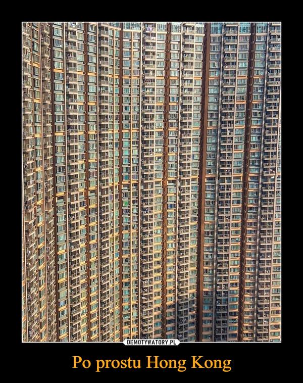 Po prostu Hong Kong –