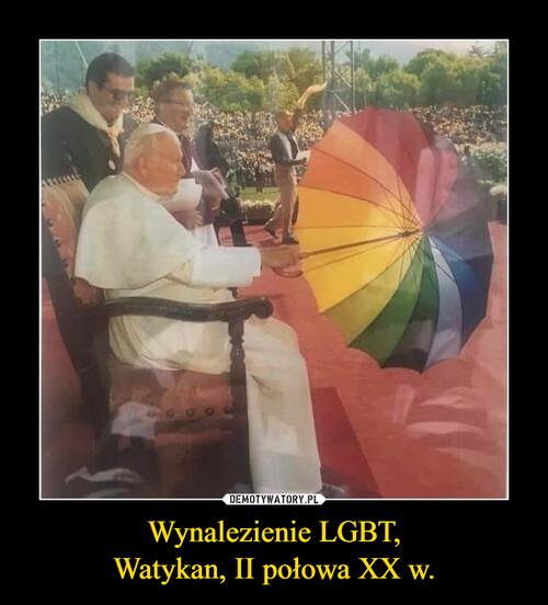 Wynalezienie LGBT, Watykan, II połowa XX w.