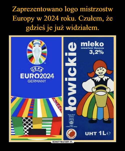Zaprezentowano logo mistrzostw Europy w 2024 roku. Czułem, że gdzieś je już widziałem.
