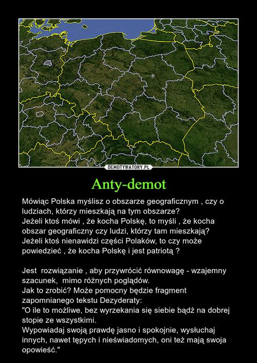 Anty-demot